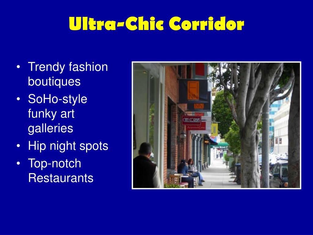 Ultra-Chic Corridor