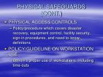 physical safeguards cont20