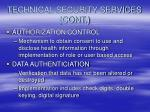 technical security services cont24