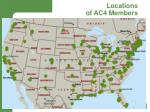 locations of ac4 members