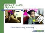 sample projects digital art