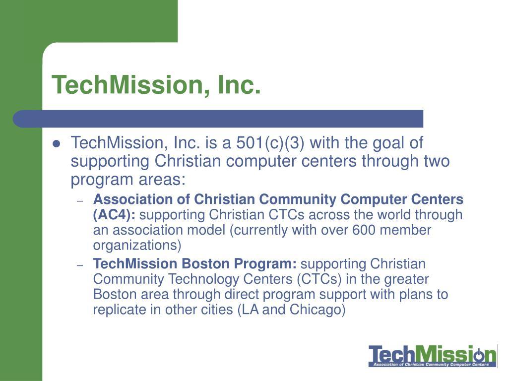 TechMission, Inc.