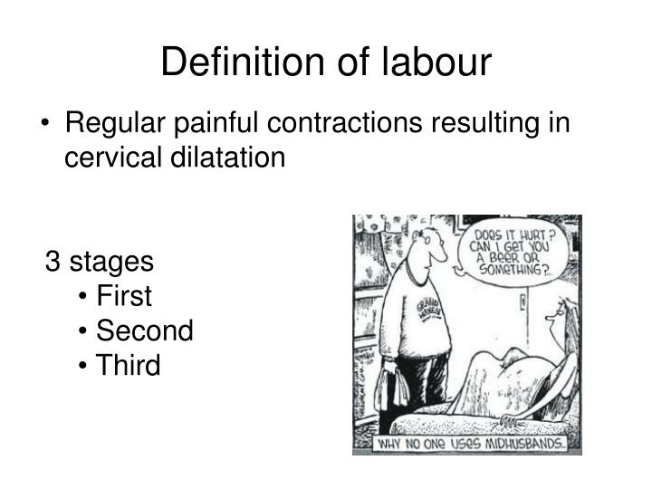 Definition of labour