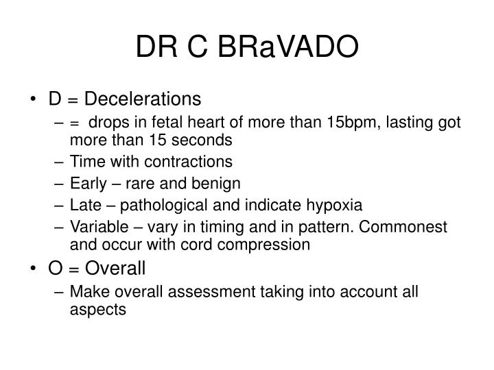 DR C BRaVADO