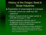 history of the oregon seed straw industries3