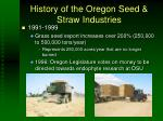 history of the oregon seed straw industries4