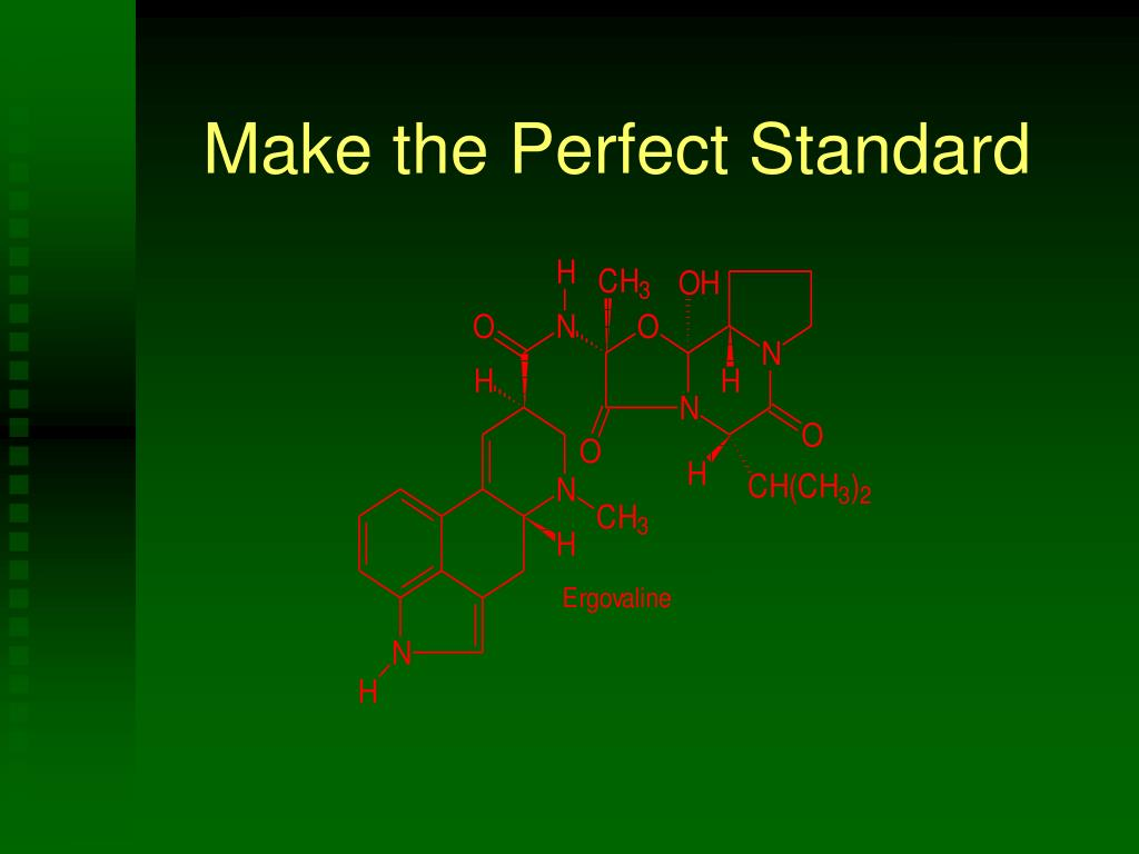 Make the Perfect Standard