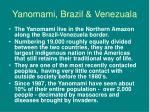yanomami brazil venezuala