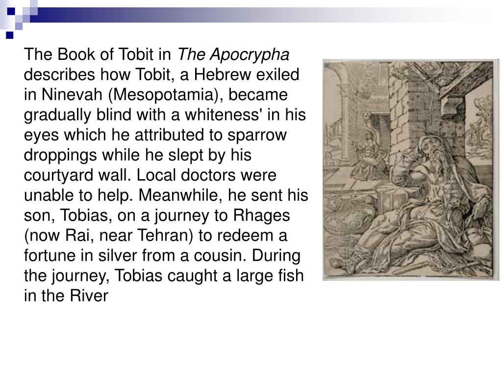 The Book of Tobit in