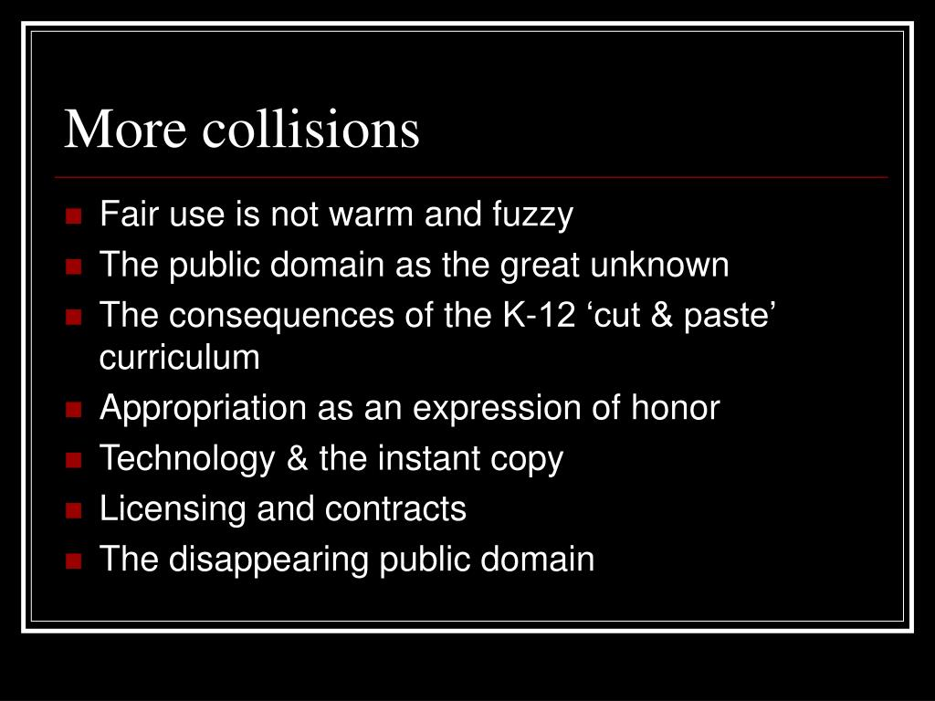 More collisions