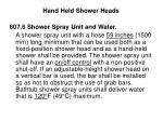 hand held shower heads