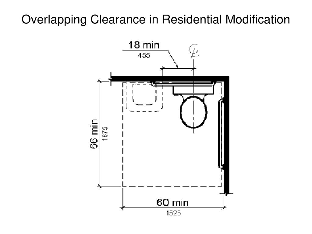 Overlapping Clearance in Residential Modification