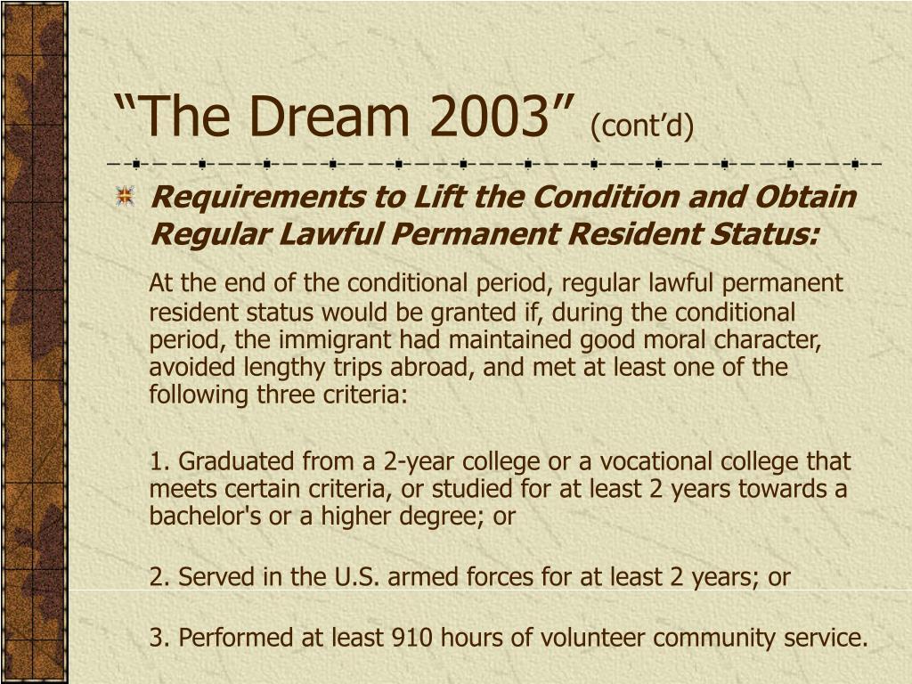 """""""The Dream 2003"""""""