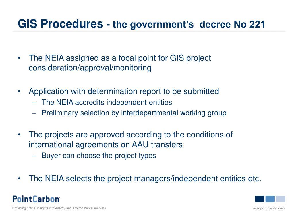 GIS Procedures