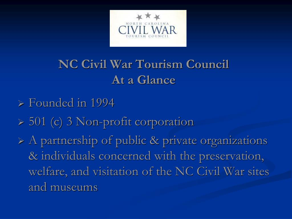 NC Civil War Tourism Council
