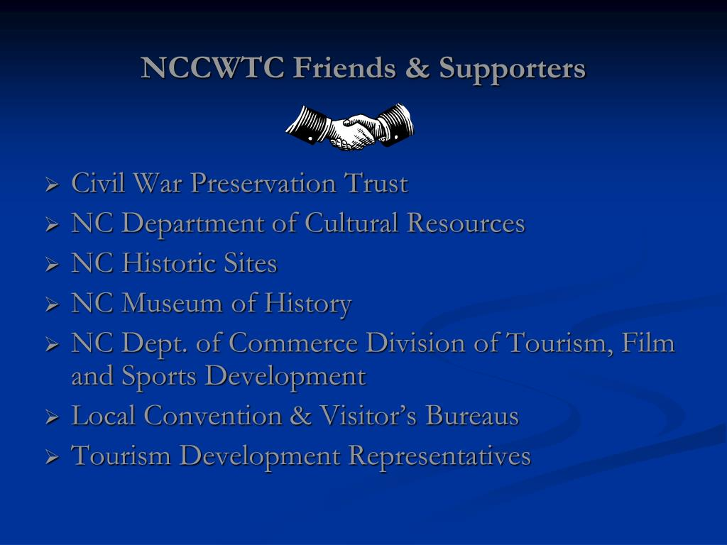 NCCWTC Friends & Supporters