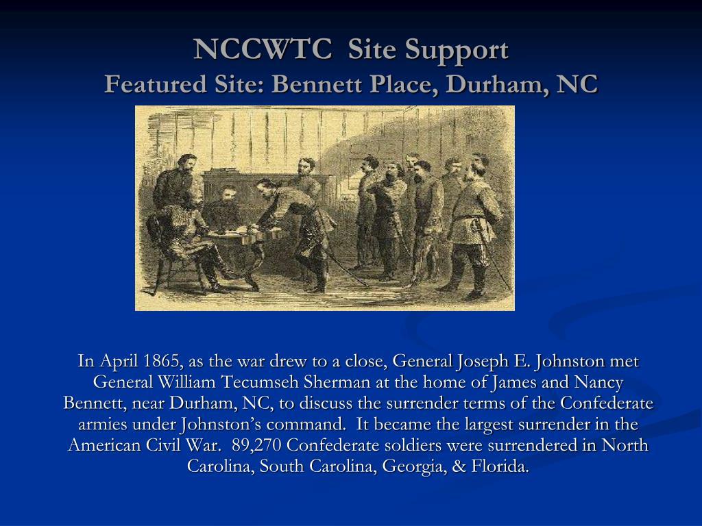 NCCWTC  Site Support
