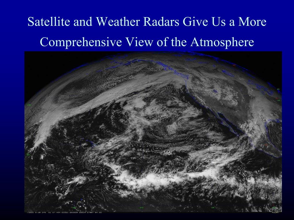 Satellite and Weather Radars Give Us a More Comprehensive View of the Atmosphere