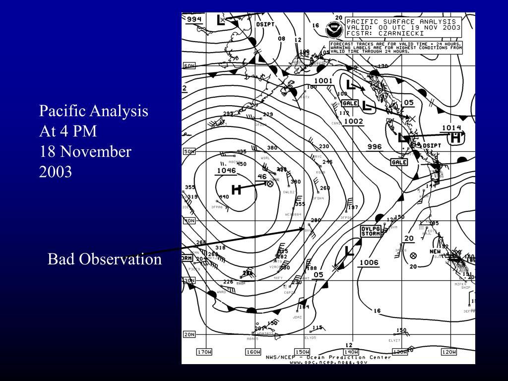 Pacific Analysis