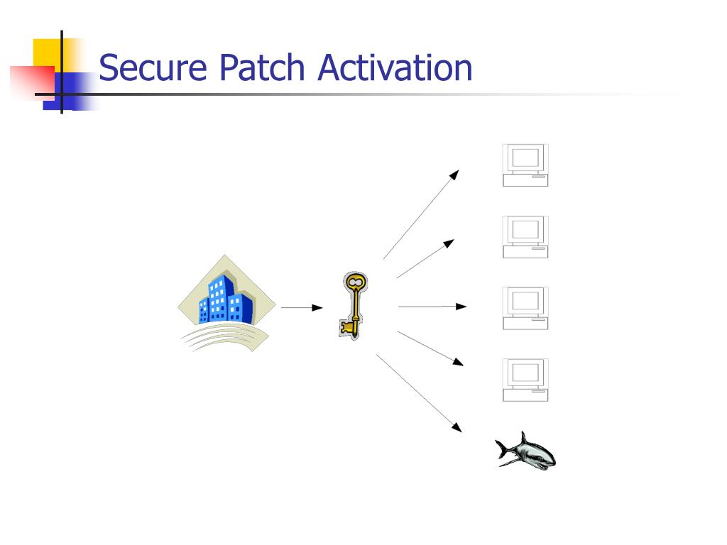 Secure Patch Activation