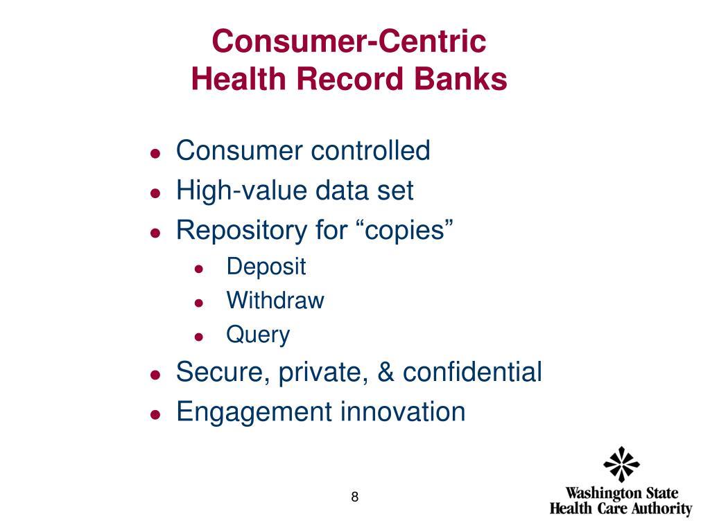 Consumer-Centric