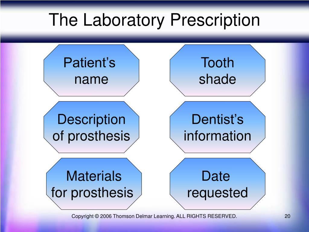 The Laboratory Prescription