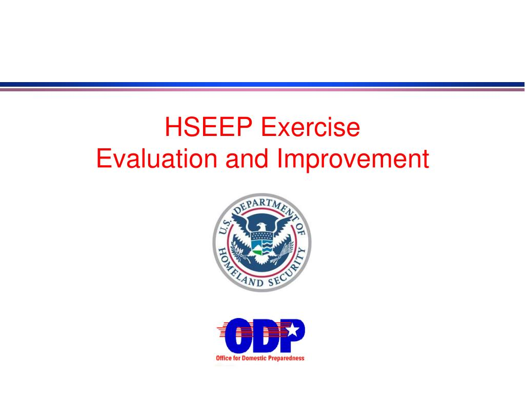 HSEEP Exercise