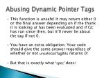 abusing dynamic pointer tags26