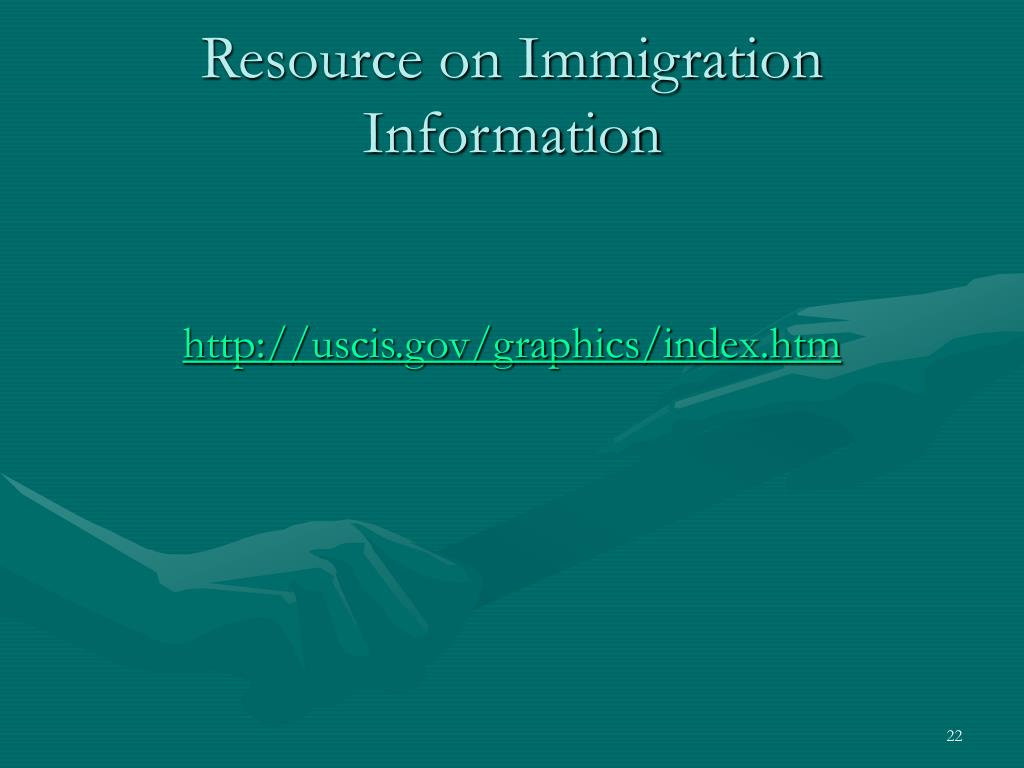 Resource on Immigration Information