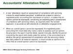 accountants attestation report42