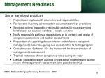 management readiness53