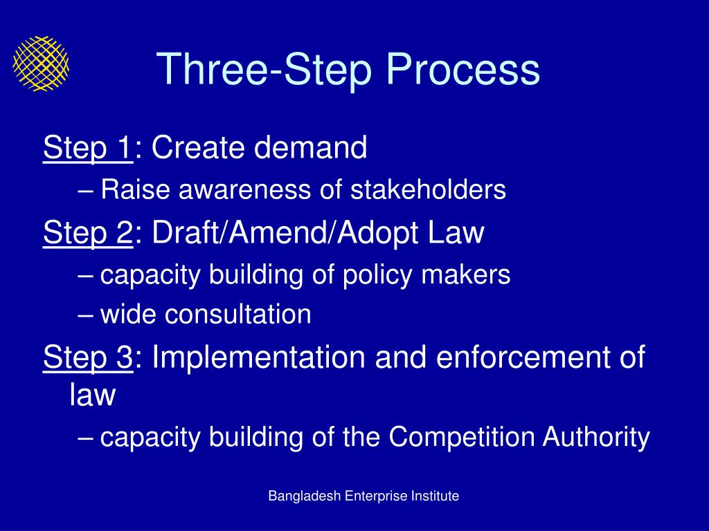 Three-Step Process