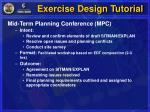 exercise design tutorial10