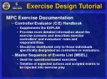 exercise design tutorial11