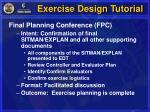 exercise design tutorial13