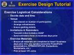 exercise design tutorial14