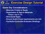 exercise design tutorial15