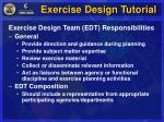 exercise design tutorial17
