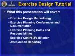 exercise design tutorial2