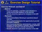 exercise design tutorial20