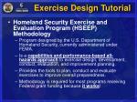 exercise design tutorial3