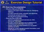 exercise design tutorial8