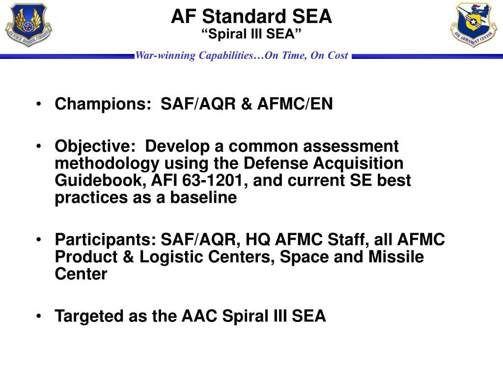 AF Standard SEA