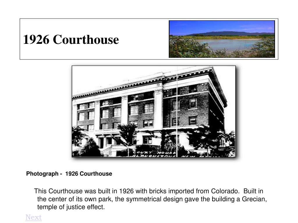 1926 Courthouse