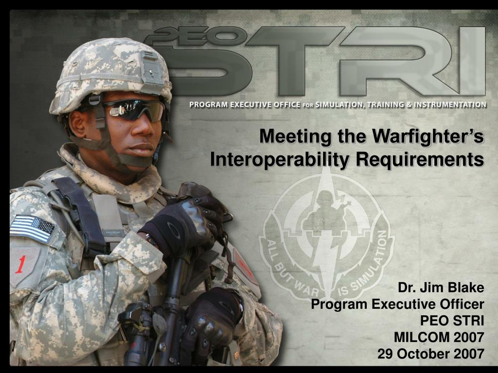 Meeting the Warfighter's