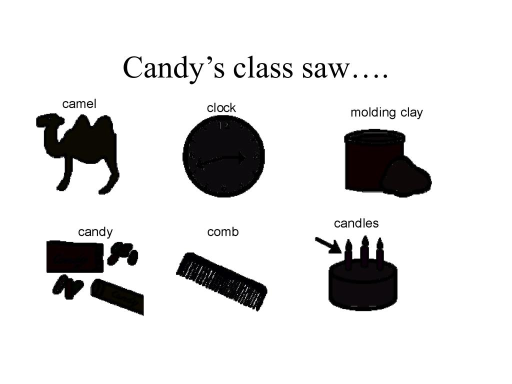Candy's class saw….