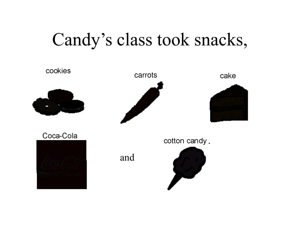 Candy's class took snacks,