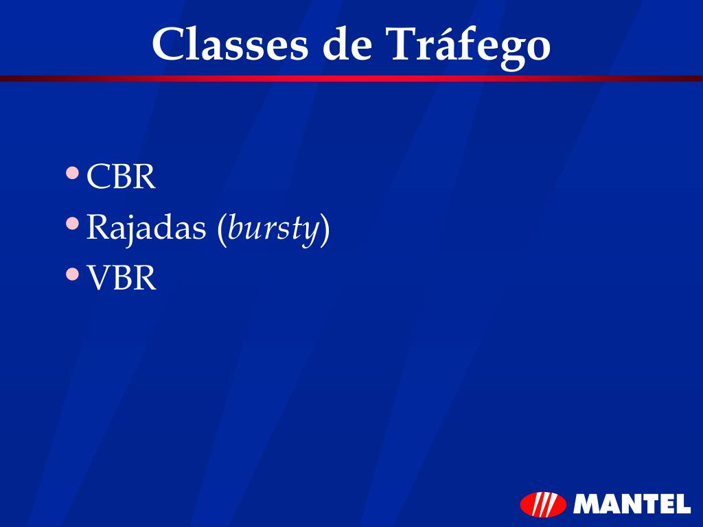 Classes de Tráfego