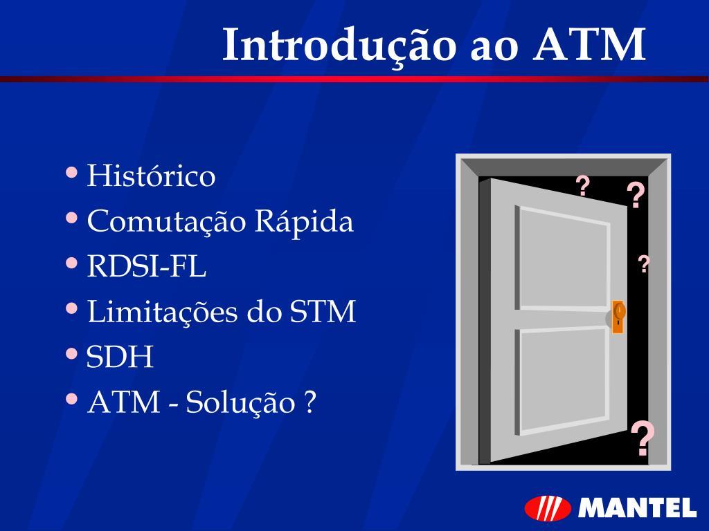 Introdução ao ATM