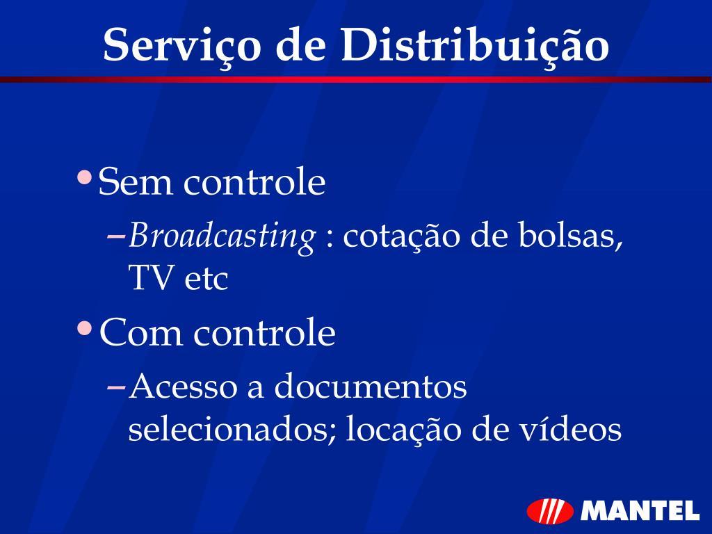 Serviço de Distribuição